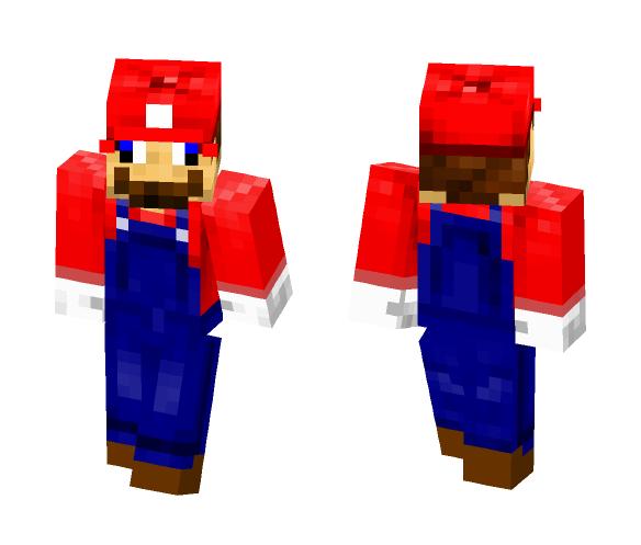 Retarded Mario (SMG4) - Male Minecraft Skins - image 1
