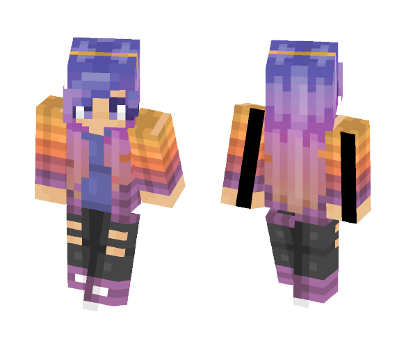 Collab with lolighta2pon~ - Female Minecraft Skins - image 1