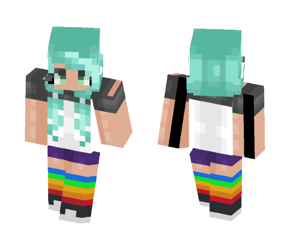 Riley Anne Hoffle - Female Minecraft Skins - image 1