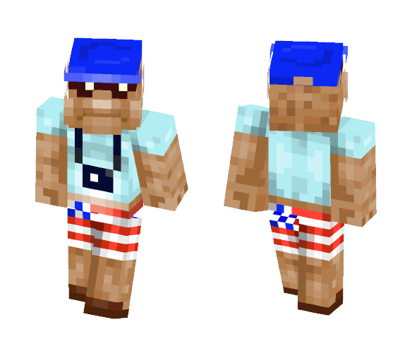 American tourist - Male Minecraft Skins - image 1
