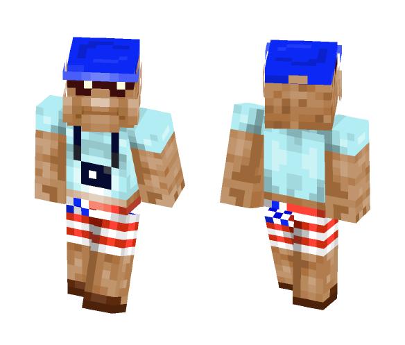 American tourist - Male Minecraft Skins - image 1