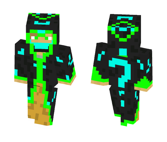 Black Ninja - Male Minecraft Skins - image 1