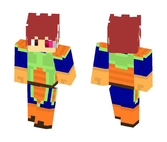 Vegeta (off colors) - Male Minecraft Skins - image 1