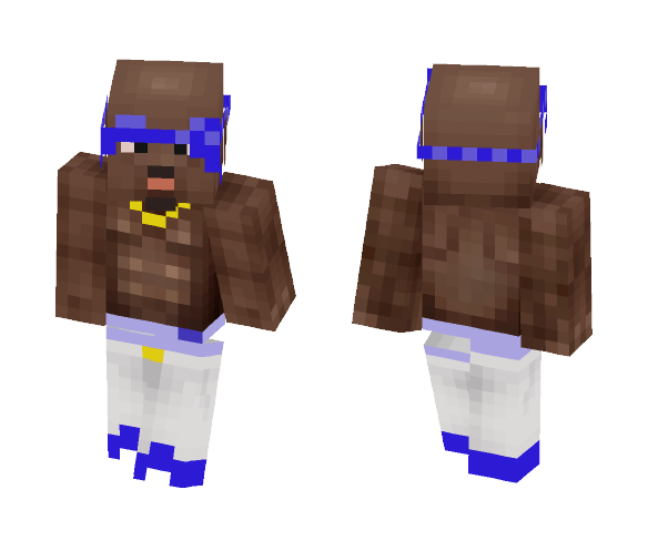 2pac - Male Minecraft Skins - image 1