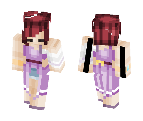 ♡ Stay Determined ♡ - Female Minecraft Skins - image 1