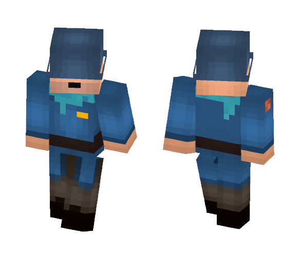 Jane the Soldier - Male Minecraft Skins - image 1