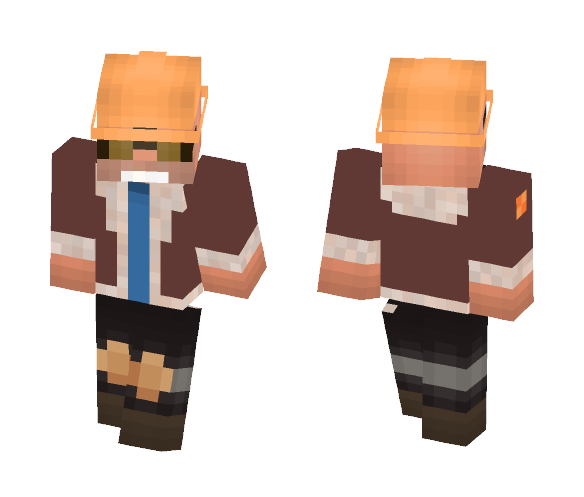 Overtime Dell the Engineer - Male Minecraft Skins - image 1