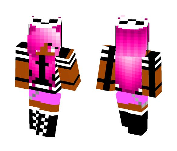 Beta Pink - Female Minecraft Skins - image 1