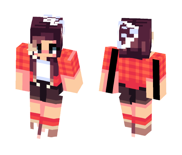Camping - Female Minecraft Skins - image 1