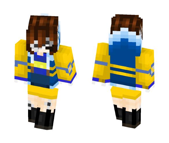 Starfell Frisk - Female Minecraft Skins - image 1