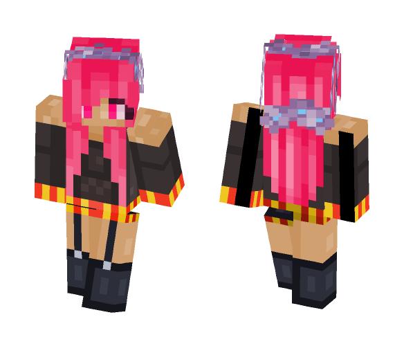 Wizza Pink - Female Minecraft Skins - image 1