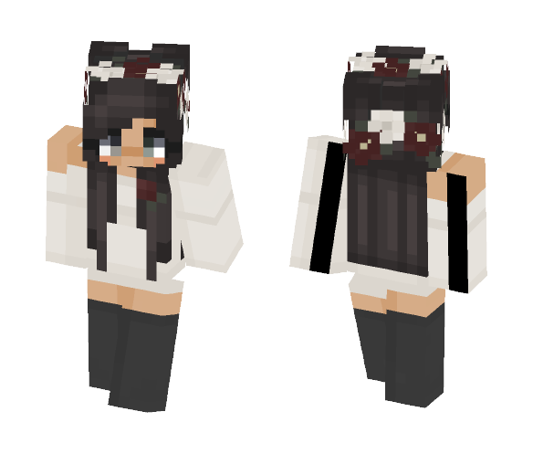 ;)) // trashyy - Female Minecraft Skins - image 1