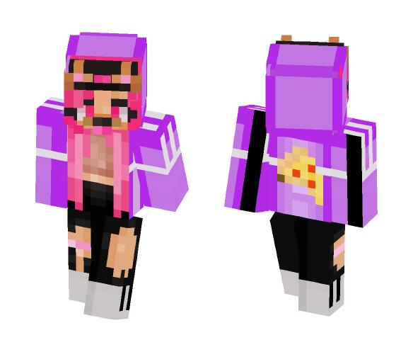 Dog Filter Pink - Dog Minecraft Skins - image 1