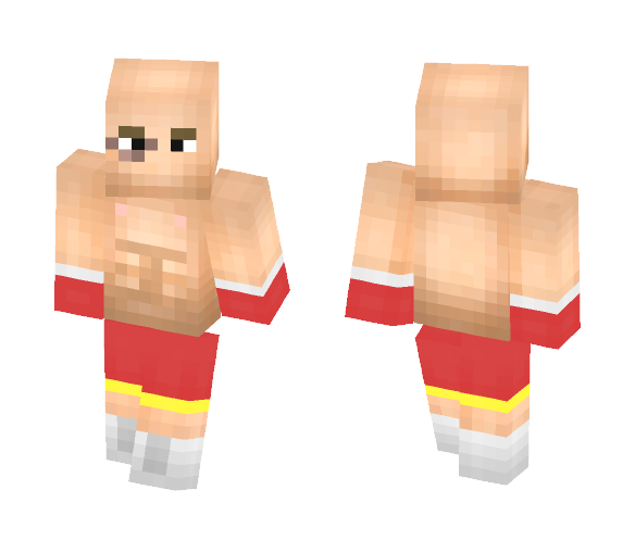 Boxer - Male Minecraft Skins - image 1