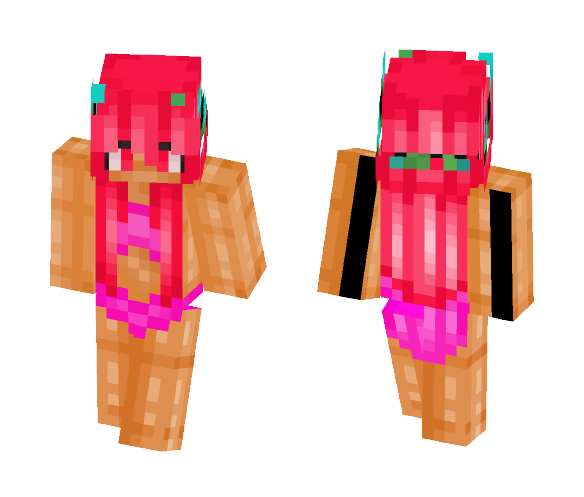 Bathing suit Pink - Female Minecraft Skins - image 1