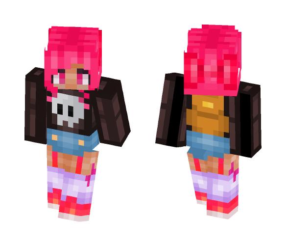 Traveler Pink - Female Minecraft Skins - image 1