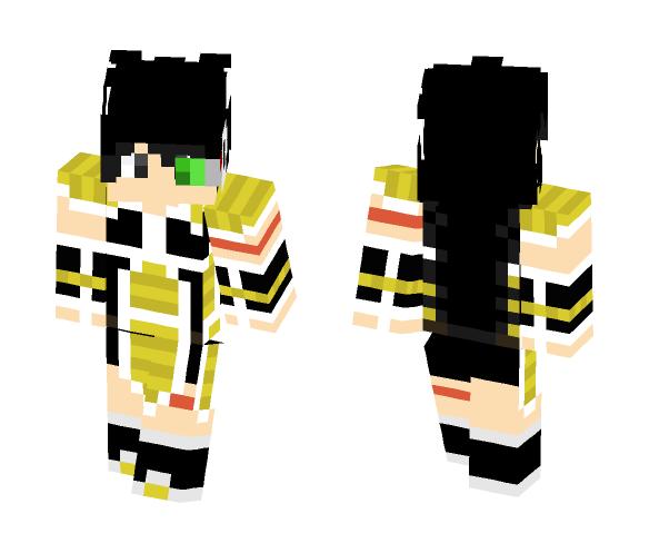 Raditz - Male Minecraft Skins - image 1