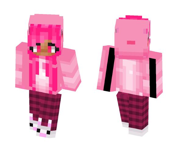 Pajama Pink - Female Minecraft Skins - image 1
