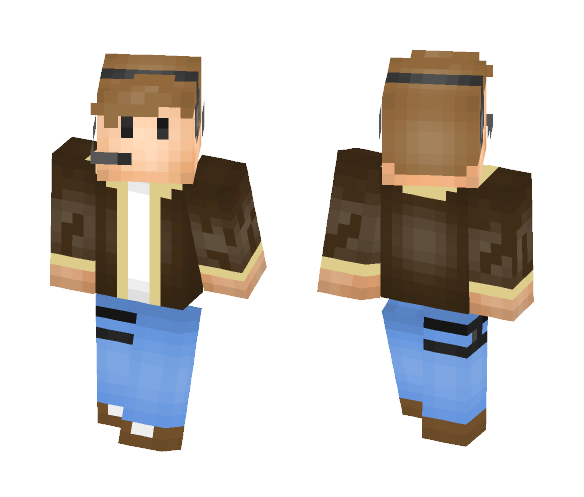 Pilot - Male Minecraft Skins - image 1