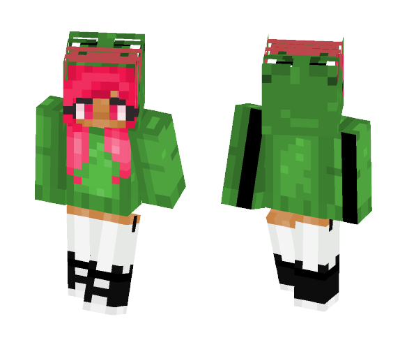 Meme Pink - Female Minecraft Skins - image 1