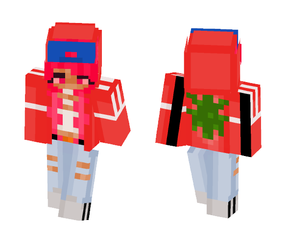 High Pink - Female Minecraft Skins - image 1