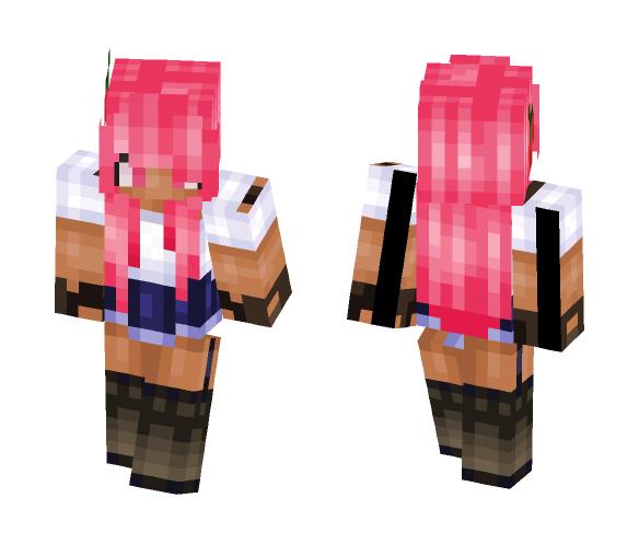 Adventure Pink - Female Minecraft Skins - image 1
