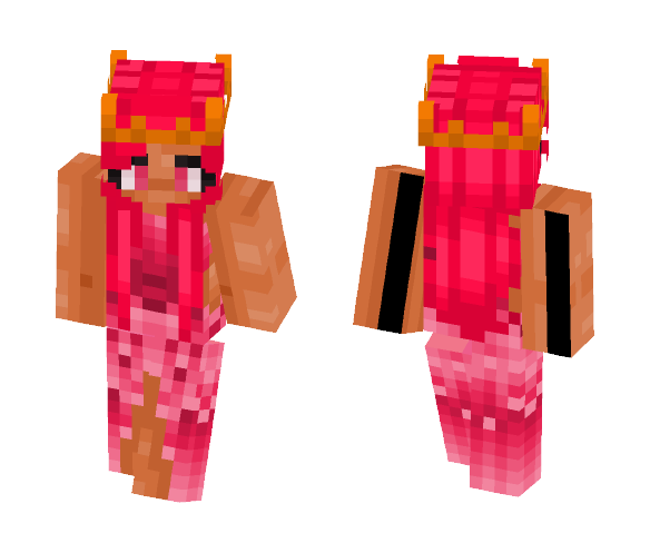 Dressy Pink 2 - Female Minecraft Skins - image 1