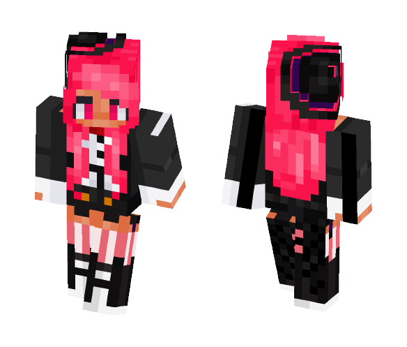 Magic Pink - Female Minecraft Skins - image 1