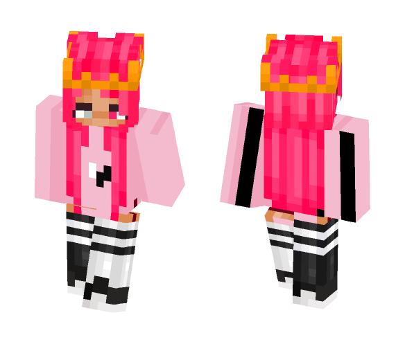Crown Pink - Female Minecraft Skins - image 1