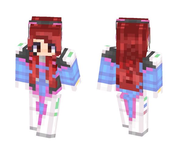 Erebus Lane - D.Va Version - Female Minecraft Skins - image 1