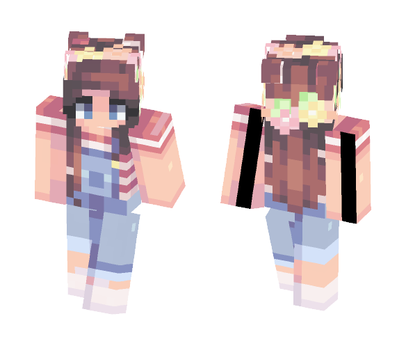 Cute n Simple - For my sister - Female Minecraft Skins - image 1