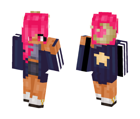 Moon Pink - Female Minecraft Skins - image 1