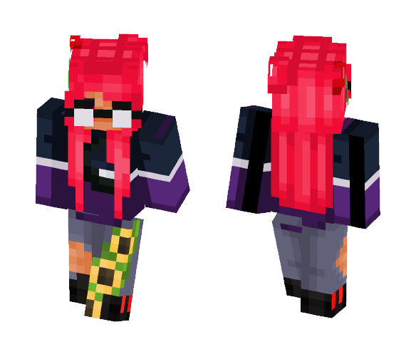 Book Pink - Female Minecraft Skins - image 1