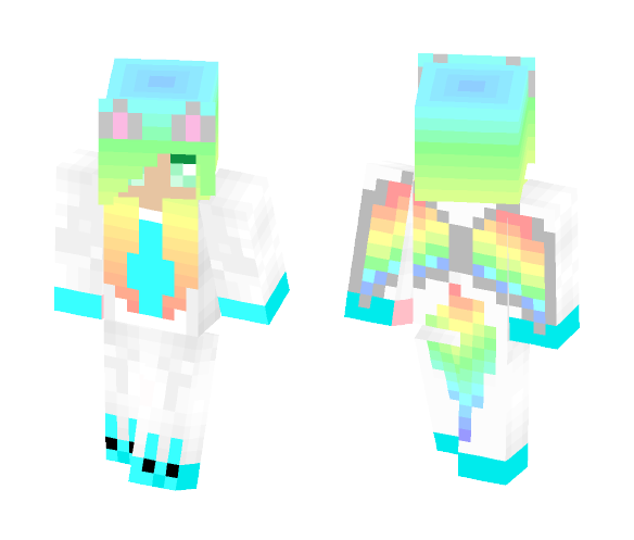 Dragon PJs - Female Minecraft Skins - image 1