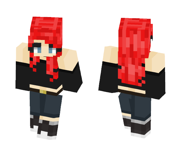 Rose's are red, Blood is too. - Female Minecraft Skins - image 1