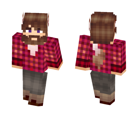 Werewolf Dad - Male Minecraft Skins - image 1