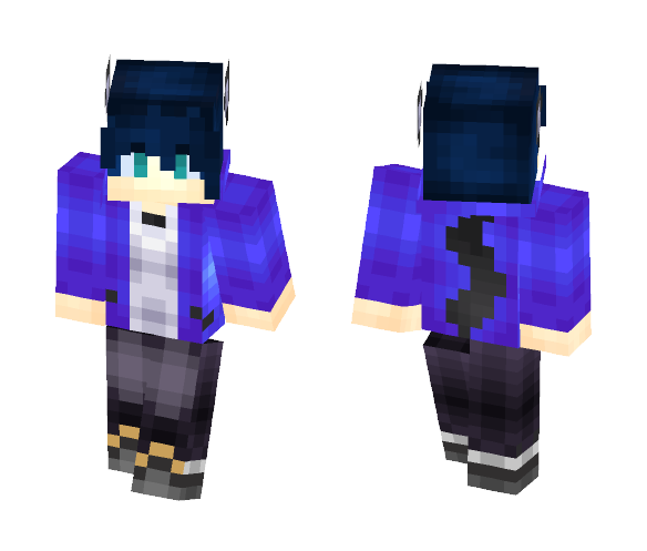 Werewolf Brother Thing - Male Minecraft Skins - image 1
