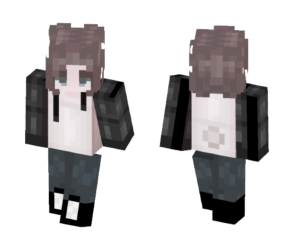 Lilla In Panda Hoodie - Female Minecraft Skins - image 1