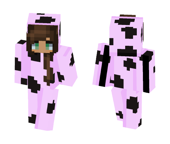 ~ PINK COW :O ~ - Female Minecraft Skins - image 1