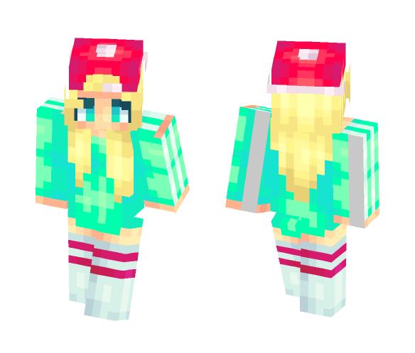 Living Neon Light ???? - Female Minecraft Skins - image 1