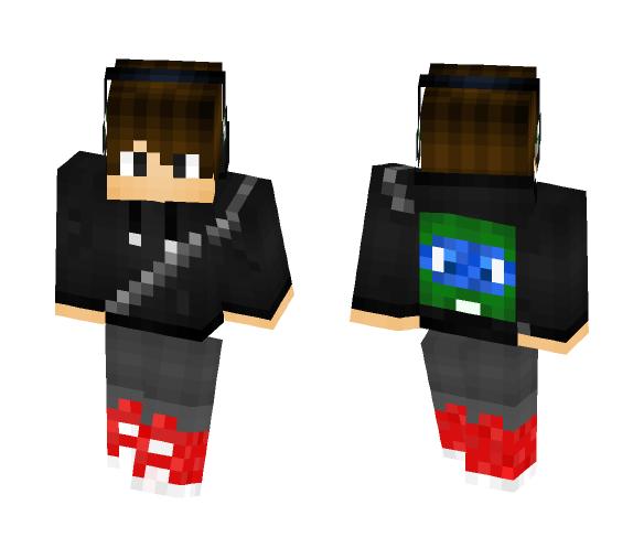 leo backpack - Male Minecraft Skins - image 1