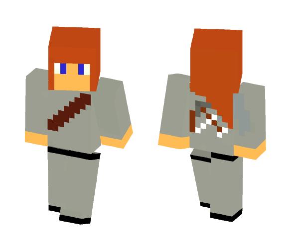 warrior - Female Minecraft Skins - image 1