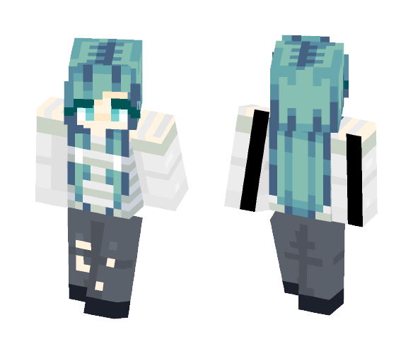 a perfect poster child... - Female Minecraft Skins - image 1