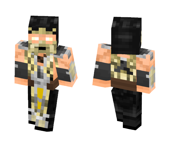 Scorpion Concept (scalemail) - Male Minecraft Skins - image 1