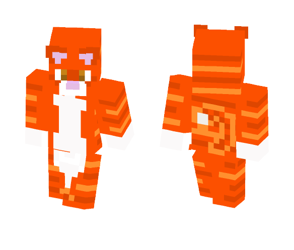 Shiverfoot (WarriorCats) - Male Minecraft Skins - image 1