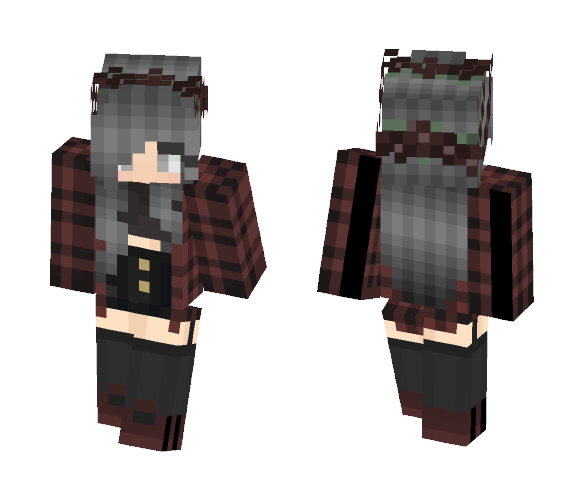 A really cute girl. - Cute Girls Minecraft Skins - image 1