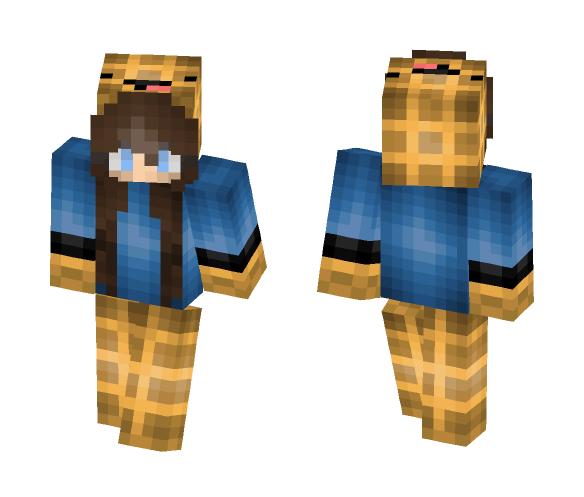 Waffle girl - Girl Minecraft Skins - image 1