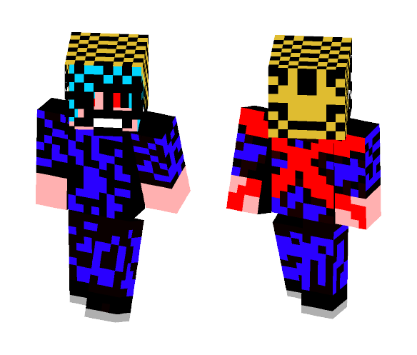 Tokyo Ghoul version of my skin - Male Minecraft Skins - image 1