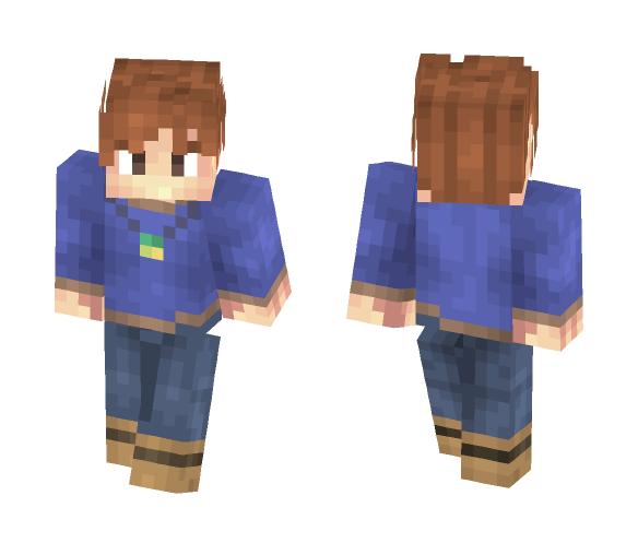 Pokemon - Gary Oak - Male Minecraft Skins - image 1