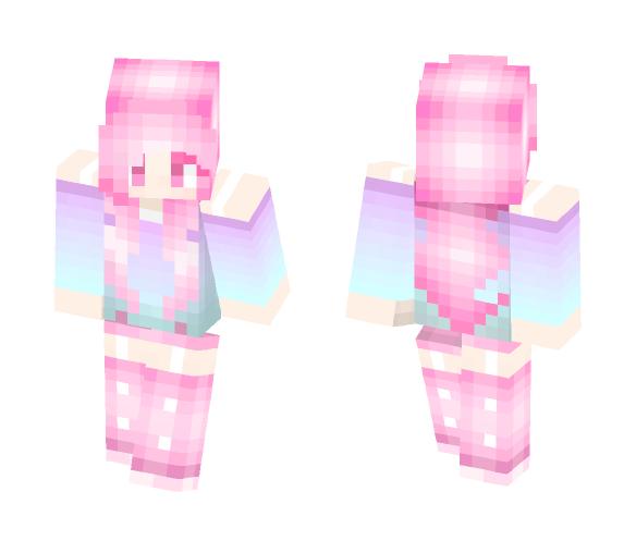 Pastel cutie - Female Minecraft Skins - image 1